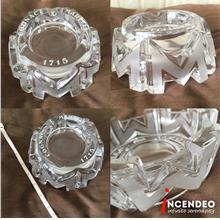 **incendeo** - Vintage French COGNAC MARTELL Crystal Ashtray