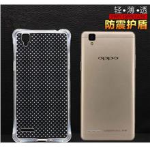 OPPO F1 A35 ShakeProof Silicone TPU Transaprent Case Cover Casing
