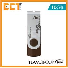 Team Group E902 16GB USB 3.0 Color Turn Flash Drive/Pendrive - Brown
