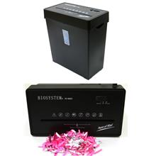 BIOSYSTEM Cross Cut Paper Shredder 5 Sheets