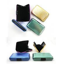Name Card Holder Box Type Aluminium Cover