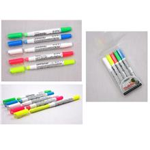MUNGYO Board & Glass Chalk Pen Set 5pcs