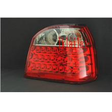 Volkswagen Golf 3 '92-97 LED Tail Lamp Red/Clear