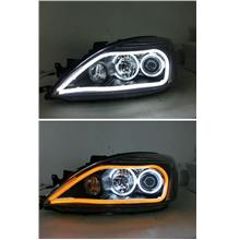 Mitsubishi Global Lancer '04 CCFL Projector Head Lamp 2-Function DRL