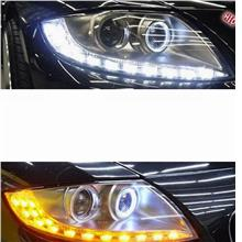 BMW Z4 LED Ring Projector Head Lamp + 2-Function DRL R8