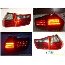 DEPO Toyota Harrier RX330 `03-08 MCU30 LED Tail Lamp Smoke/Red