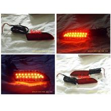 Toyota Altis 10-11 Rear Bumper Reflector Light with LED [Red]