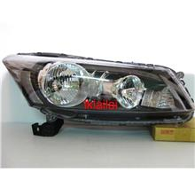 Honda Accord `08 Crystal Head Lamp Black Per Side ONLY