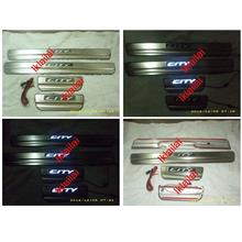 HONDA CITY FL '12 Door / Side Sill Plate With LED Light [4pcs/set]