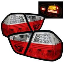 SONAR BMW E90  '05-06 4Door  LED Tail Lamp [Red/Clear]