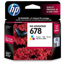 HP 678 Tri-color Ink Cartridge (CZ108AA)