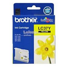 BROTHER INK CARTRIDGE Inkjet Yellow (LC37Y)