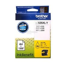 Brother High Yield Yellow Ink Cartridge (LC535XLY)