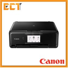 Canon PIXMA TS8170 A4 Home  & Photo AIO Inkjet Printer-Black/Red/White