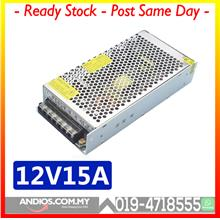 CCTV Alarm LED 12V15A Switching Power Supply Adapter