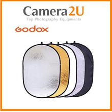 Godox 100x150cm 5 in 1 Collapsible Reflector (Human Size)