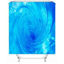 3D Seaview Natural Scenery Waterproof Shower Curtain