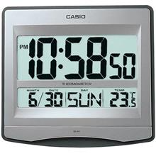 CASIO ID-14-8 DIGITAL WALL CLOCK / DESK CLOCK WITH TEMPERATURE