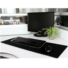 ALL BLACK EXTRA LARGE RUBBER MOUSEPAD MAT 900MM X 400MM X 4MM
