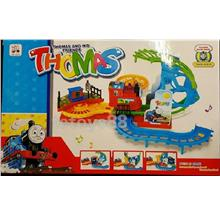 THOMAS Train set. Rotate Orbit Bridge Track. Fun Train Toys. Big set.!