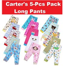 Baby Carter's Long Pants (5pcs per pack) - Random Design