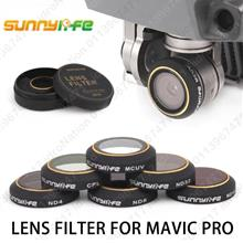 DJI Mavic Pro Camera Lens Filters Sunnylife UV CPL ND4 ND8 ND16 ND32