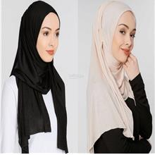 [DindabyV] Set of 2 Woman's Jersey Shawl / Hijab 702B