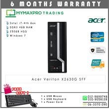 Acer Veriton X2630G SFF Intel Core i7-4th Gen 4GB RAM 250GB HDD Win7