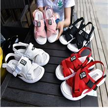 New Korean Version of Wild Women Flat Sandals with Two Wearing Strap