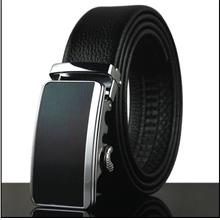 Men's Automatic Top Layer Cowhide Leather Business Belt