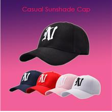 Korean Letter N Baseball Hat Men's Summer Outdoor Sports Casual Sunshade Cap