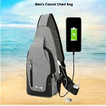 Men's Casual Chest Bag Oxford Cloth Waterproof