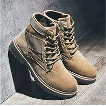 Autumn and Winter High-top Military Waterproof Men's Martin Boots
