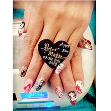Nails Arts Design Voucher Home Service (JB Area Only) N001