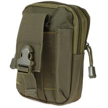 MULTIPURPOSE OUTDOOR ACCESSIBLE POUCH BELT LOOPS WAIST BAG
