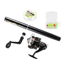 Pen Fishing Rod and Reel Combo Set Mini Telescopic Pocket Fishing Rod