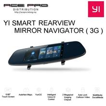 XIAOYI Yi Smart Rearview Mirror Navigator Ed ( 3G ) - GPS WIFI Dashcam