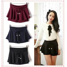Women Mini Skirt Pants Skort wt Inner Shorts