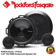 "ORIGINAL ROCKFORD FOSGATE PUNCH USA P152-S 50W RMS 5.25"" SPEAKER SET"
