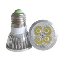 LED Energy Saving Spotlight Bulb (E27/White - 4W)