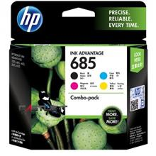 HP Ink Cartridge 685 (1PF6V35AA) COMBO 4-PACK BLACK+COLOR