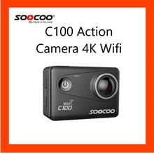 SOOCOO C100 4K Sport Action Camera, P2P Wi-Fi, Super Waterproof,