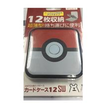 SWITCH GAME CASE 12IN1 - POKEBALL