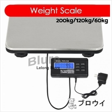 200kg/120kg/60kg Switchable Heavy Digital Weighing Platform Scale