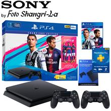 Sony PlayStation 4 Slim FIFA19 PS4 Slim 500GB FIFA 19 Bundle With 2 Controller