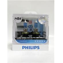 PHILIPS CrystalVision 4300K HB4 (Free T10 ) Light Bulb ## HOT SALES ##