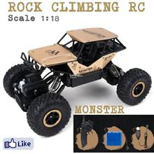 Alloy Monster 4WD 1/18 RC Car Rock Crawler Remote Buggy Off-Road Cars