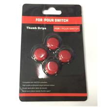 SWITCH JOY-CON THUMP GRIPS (SET OF 4) - RED