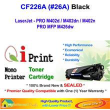 Qi Print HP CF226A 26A M402 M426 Toner Cartridge * NEW SEALED *