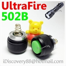 UltraFire 502B TailCap-SG LED Torch FlashLight On/Off Switch Cap